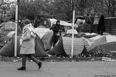 """Ghost Children Place 29"" (TBWLC Photography) Tags: fdrouet tbwlc nb bw monochrome street slum bidonvillecampdemigrants migrantcamp réfugiés refugees nikon d610 aubervilliers"