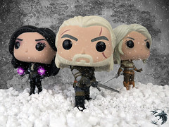 The Witcher's Family (SailorLun@) Tags: funkopop thewitcher yennefer geraltofrivia ciri