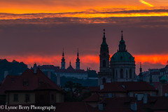 FAIRYTALE OF PRAGUE (lynneberry57) Tags: prague rooftops city landscape canon 70d sky clouds colour europe urban czech