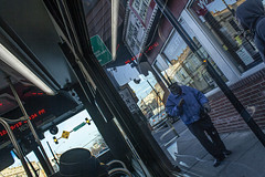 (jfre81) Tags: chicago cta 35th street bus man passenger boarding sidewalk public transportation 312 windy city second urban james fremont photography jfre81 canon rebel xs eos