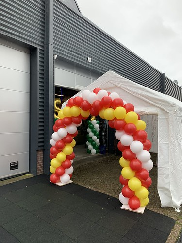 Ballonboog 5m Netinstall Kethelvaart Schiedam