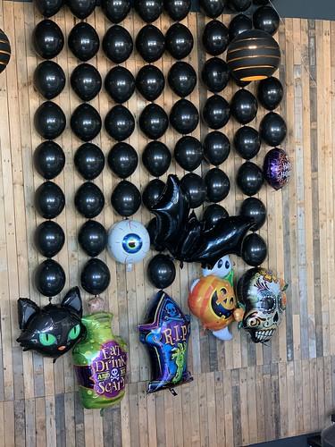 Ballonnenwand Halloween Watertuin Spijkenisse