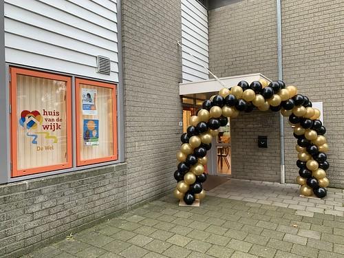 Ballonboog 6m Buurthuis de Wel Capelle aan den IJssel