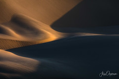 Sand crescent (Jerzy Orzechowski) Tags: textures shadows dunes sand landscape sunset namibia abstract brown sandwichharbour