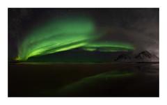 aurora borealis panorama (jos.pannekoek) Tags: auroroborealis northern light lofoten norway skagsanden beach landscape d500 tokina1116mmf28 tokinaaf1116mmf28