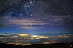 Haleakalā National Park Night 5 (lycheng99) Tags: haleakalā haleakalānationalpark nationalpark sunset night longexposure stars astronomy clouds seaofclouds light observatory telescope maui hawaii nightphotography landscape nature explore travel