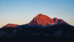 Red Mountains - Wängle, Austria (Sebastian Bayer) Tags: österreich felsen berge berg panorama natur ausblick bäume iseler wandern ausflug tal himmel drausen wasser landschaft wolken stein