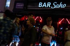 Bar Soho (Silver Machine) Tags: london soho bar streetphotography street candid outdoor people drinking smoking fujifilm fujifilmxt10 fujinonxf35mmf2rwr