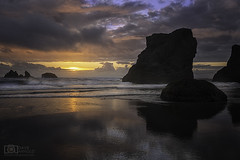 Do you know how to get here? (Dave Arnold Photo) Tags: or ore oregon bandon coquille sunset caperunstatepark pacific beach coast west northwest tide tidal wave rock point park davearnold davearnoldphotocom pic picture photo photography photograph photographer travel charleston empire northbend national seastack famed spread island where central awesome canon 5d mkiii us usa image beautiful idyllic serene peaceful wet high famous howto tour tourist wild fantastic coosbay professional lightroom photoshop face