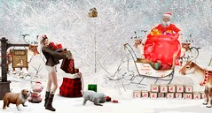 Oh Santa! (Corina Wonder (Cosmopolitan Events)) Tags: cosmopolitan cosmo event events secondlife sl yasum doux osmia insomnia deep static foxcity dad rezzroom chez moi bee tlc bmade killers production