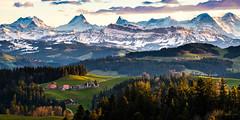 Schmiedshub (uhu's pics) Tags: xf90mmf2 fujinon xpro fuji fujifilm atmospheric snow mountains alps emmentalvalley switzerland stimmungsvoll schnee berge alpen voralpen schmiedshub lützelflüh emmental schweiz