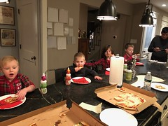 "Cousins Eating Pizza • <a style=""font-size:0.8em;"" href=""http://www.flickr.com/photos/109120354@N07/49250006398/"" target=""_blank"">View on Flickr</a>"