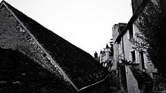 La parabole (Un jour en France) Tags: monochrome noiretblanc noiretblancfrance château rue village ville black canoneos6dmarkii canonef1635mmf28liiusm eos