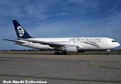 Air New Zealand B767-204/ER ZK-NBJ (planepixbyrob) Tags: newzealand airnewzealand boeing 767 767200 zknbj mel melbourne tullamarine retro kodachrome