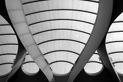 Grand Central (II) (pix-4-2-day) Tags: railway station grand central birmingham bahnhof moderne architektur modern architecture bögen bogen curve arch decke ceiling kuppel dome futuristisch futuristic