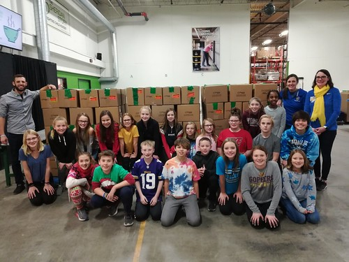 St. Michael Albertville Middle School East Packing Event, 12/20/19