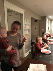 """Cousins Eating Pizza • <a style=""""font-size:0.8em;"""" href=""""http://www.flickr.com/photos/109120354@N07/49250475456/"""" target=""""_blank"""">View on Flickr</a>"""
