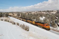 BNSF 5804 USAFA 16 Dec 19 (AK Ween) Tags: bnsf bnsf5804 ge generalelectric es44ac gevo usafa airforceacademy colorado jointline train railroad