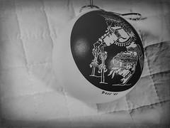 Native American Bauble (clarkcg photography) Tags: baubles bauble bulb ball glass ceramic art dance native nativeamerican newmexico smileonsaturday blackandwhite bw blackwhite