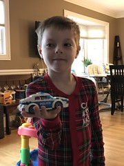 """Paul Builds a Lego Police Car • <a style=""""font-size:0.8em;"""" href=""""http://www.flickr.com/photos/109120354@N07/49250641417/"""" target=""""_blank"""">View on Flickr</a>"""