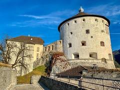 Fortress Kufstein in Tyrol, Austria (UweBKK (α 77 on )) Tags: österreich austria tyrol tirol europe europa iphone kufstein fortress history historical building architecture wall stone