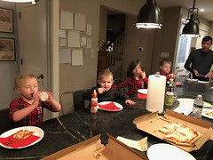 "Cousins Eating Pizza • <a style=""font-size:0.8em;"" href=""http://www.flickr.com/photos/109120354@N07/49250681047/"" target=""_blank"">View on Flickr</a>"