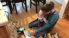 """Sam Gets a Nebulizer Treatment • <a style=""""font-size:0.8em;"""" href=""""http://www.flickr.com/photos/109120354@N07/49250693657/"""" target=""""_blank"""">View on Flickr</a>"""