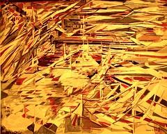 La Bataille des couteaux [Tapestry] (1981) - Maria Helena Vieira da Silva (1908-1992) (pedrosimoes7) Tags: mariahelenavieiradasilva vieiradasilva tapestry portagetapestrymanufacture arpadszenesvieiradasilvafoundation amoreiragarden lisbon portugal awardtree artgalleryandmuseums contemporaryartsociety