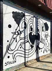 Stolen by Junkyard (wiredforlego) Tags: graffiti mural streetart urbanart aerosolart publicart chicago illinois ord junkyard stolen