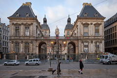 Behind the Town Hall (martyr_67) Tags: lyon france 2018