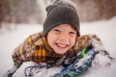 It's the start of winter break! (Elizabeth Sallee Bauer) Tags: december wisconsin active boy child childhood cold coldweather fun girl joy kid outdoors outside playing sledding snow winter wintersports youth