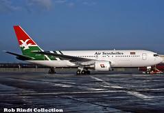 Air Seychelles B767-2Q8/ER S7-AAS (planepixbyrob) Tags: airseychelles seychelles boeing 767 767200 s7aas lgw london gatwick retro kodachrome