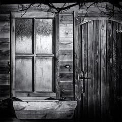 The last light (jefvandenhoute) Tags: light wall window monochrome blackandwhite