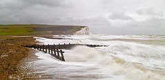 Two friends lost at sea (pauldunn52) Tags: sussex seven sisters cuckmere haven long exposure