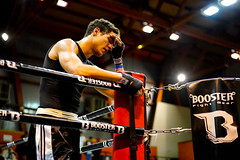 Deception (johann walter bantz) Tags: boxe gala de boxing fight end deception lost gloves sport emotion sportsphotography sony alpha zeiss 55mm ring color live