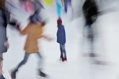 Inside the snow globe~ (~mimo~) Tags: photography canon europe europa köln cologne heumarkt market christmas deutschland germany blur skatingrink ice snow winter