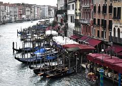 Grand Canal (thomasgorman1) Tags: gondolas gondola canal italy waterway water nikon europe city buildings travel boat winding curved
