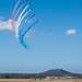 The Red Arrows' Making A Colourful Phoenix Pass