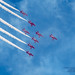 RED ARROWS KINDLY VAPING WITH SMOKE ON DURING A SUNDAY FLY