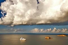 T per tempesta (carooola@) Tags: sea mare greece grecia epiro epyrus boats barche storm tempesta carolagasparri