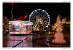 Noël - Place de jaude (BerColly) Tags: france auvergne clermontferrand noel christmas illuminations nuit night sapin manege granderoue bercolly google flickr