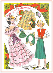 A Christmas Paper Doll For The Holidays... (JillyBeanSSF) Tags: paperdoll christmas