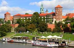Krakow Across The Vistula (Alan1954) Tags: krakow poland holiday 2019 river boats vistula
