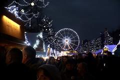 Marché de Noël de Bruxelles       SOM Berthiot Cinor B  1:1.5  F=25 (情事針寸II) Tags: sundaylights cmountlens belgium brussels christmasmarket somberthiotcinorb115f25