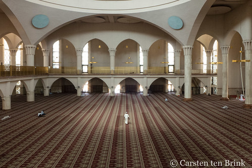 At Abuja's Central Mosque