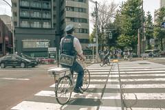 Japan - Tokyo (SergioQ79 - Osanpo Photographer -) Tags: japan tokyo police bicycle street people road day nikon d7200 2019 happyplanet asiafavorites
