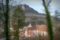From a walk in the Jura Mountains 4 (p_odel) Tags: france salinslesbains landscape franchecomté cityscape textured