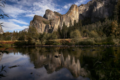 Yosemite Valley View (lfeng1014) Tags: valleyview yosemite yosemitenationalpark california usa cathedralrocksandspires mercedriver reflection mountain river landscape bridalveilfalls canon5dmarkiii ef2470mmf28liiusm travel lifeng