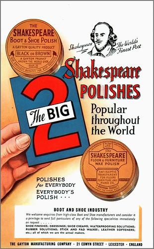 Shakespeare Polishes 1946