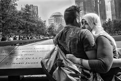 Manhattan, 2018 (Alan Barr) Tags: newyork newyorkcity nyc ny manhattan 911 memorial street sp streetphotography streetphoto blackandwhite bw blackwhite mono monochrome candid city people panasonic gx85